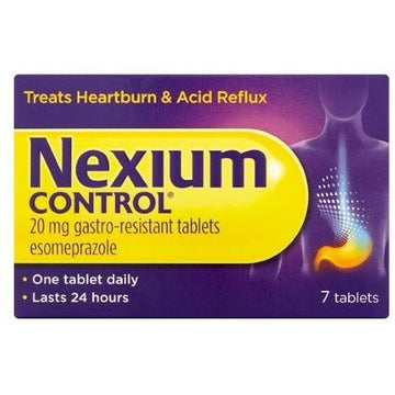 Nexium Control 20mg Tablets (7)