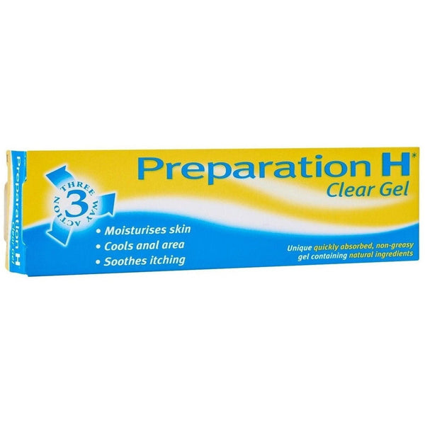 Preparation H Clear Gel 50g, Haemorrhoids (Piles) Treatment