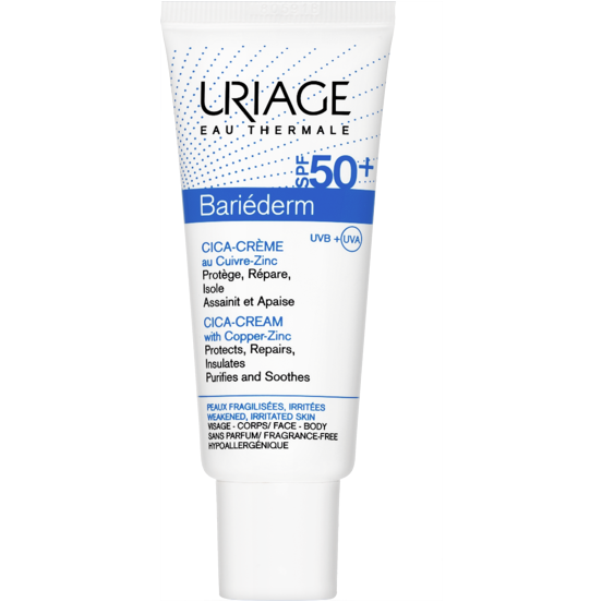 Uriage Bariéderm Cica-Cream With Copper-Zinc SPF50 40ml