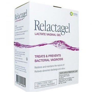Relactagel Lactate Vaginal Gel, for Bacterial Vaginosis (BV)