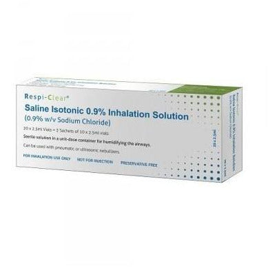 Respiclear Nebuliser Solution (2.5ml x 20)