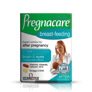 Pregnacare Breastfeeding (84), Micronutrient Tablets and High Purity Omega-3 Capsules