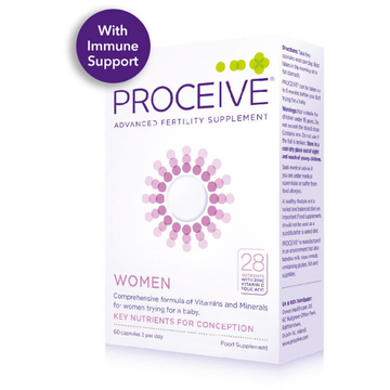 Proceive Women (60) Capsules, Advanced Fertility Supplement