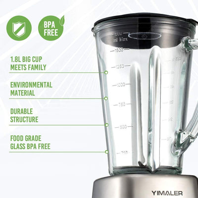 Smoothie Maker with Glass Jug