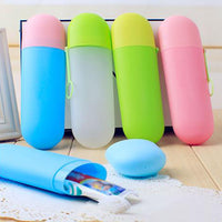 Portable Travel Toothbrush Toothpaste Anti-dust Cover Holder Case Storage Box - KronoWorld Secure Online Shopping
