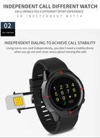 SmartWatch, Heart Rate Monitor, Camera, GPS, Bluetooth - KronoWorld Secure Online Shopping