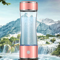 Portable Hydrogen Rich Water Maker Ionizer Generator Electrolysis Bottle Cup - KronoWorld Secure Online Shopping