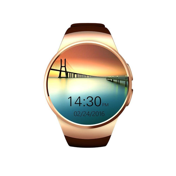 KW18 Bluetooth Smartwatch, Water Resistant, Heart Rate & Pedometer - KronoWorld Secure Online Shopping