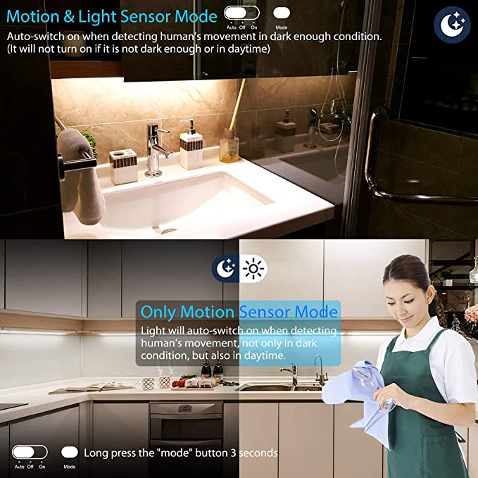 Motion Sensor Wardrobe Light