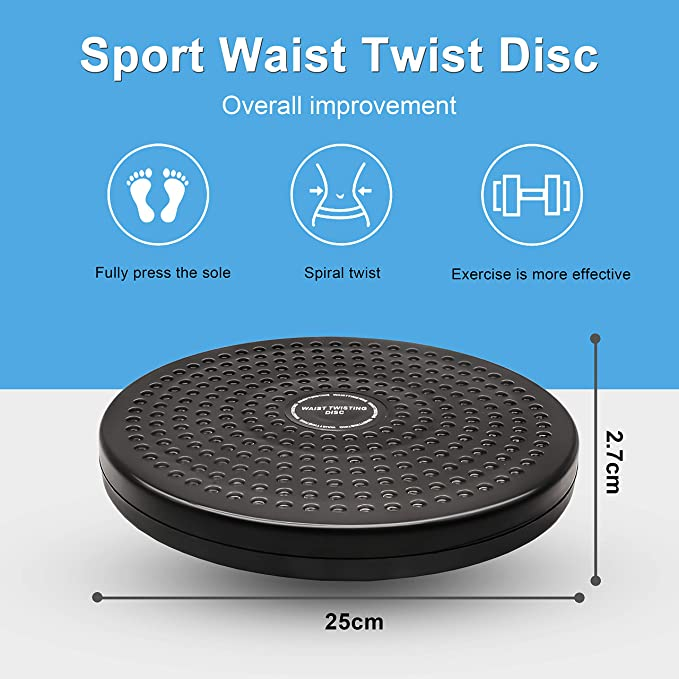 Rotating Waist Twist Disc Aerobic Exerciser