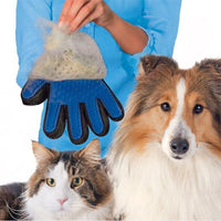 Dog Cat Grooming Pet Hair Removal Glove - KronoWorld Secure Online Shopping
