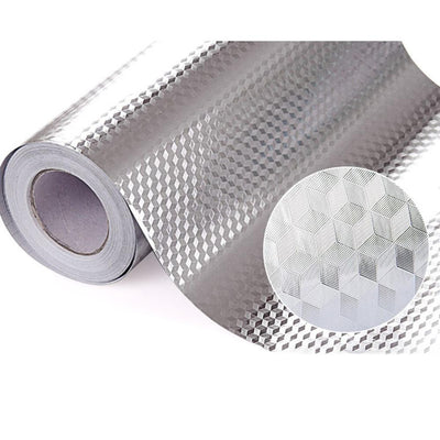 Kitchen Oil-Proof Self-Adhesive Aluminum Foil