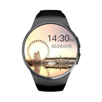 KW18 Bluetooth Smartwatch, Water Resistant, Heart Rate & Pedometer