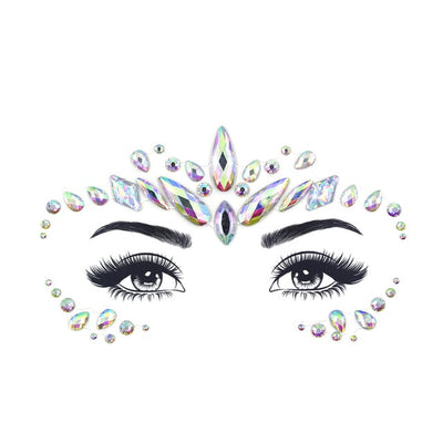 Face Gems, Make Up Adhesive, Temporary Festival Body Art - KronoWorld Secure Online Shopping