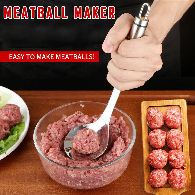 Non-Stick Stainless Steel Meatball Maker