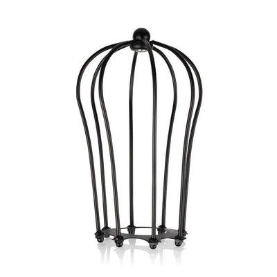 Lampshade Pendant Light Shade, Loft Metal Cage, Bulb Guard, Wrought Iron Wall Lamp, Home Decoration. - KronoWorld Secure Online Shopping