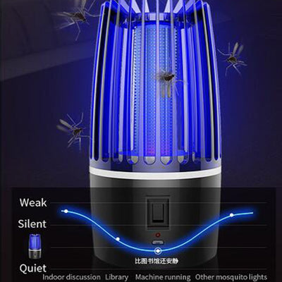 USB Rechargeable Mosquito Killer Lamp