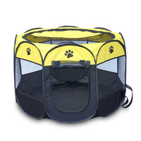 Portable Folding Pet Tent, Dog House, Puppy Kennel Easy Operation. - KronoWorld Secure Online Shopping