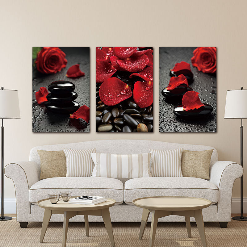 Wall Art Canvas Prints Red Rose