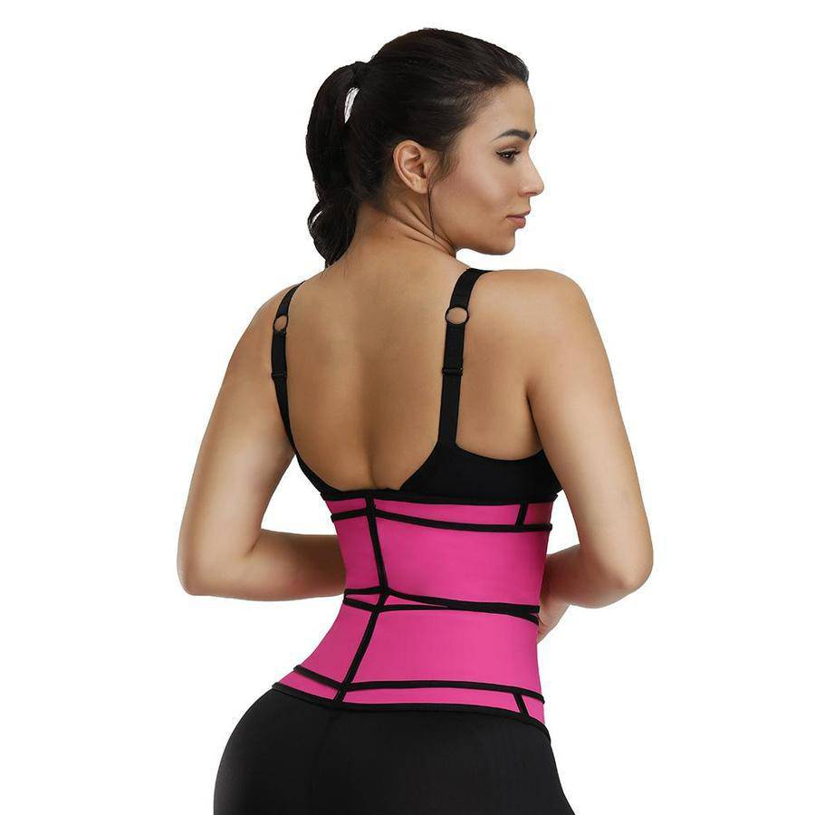 FigureWaist™ Double Belt Waist Trainer - FigureWaist.com