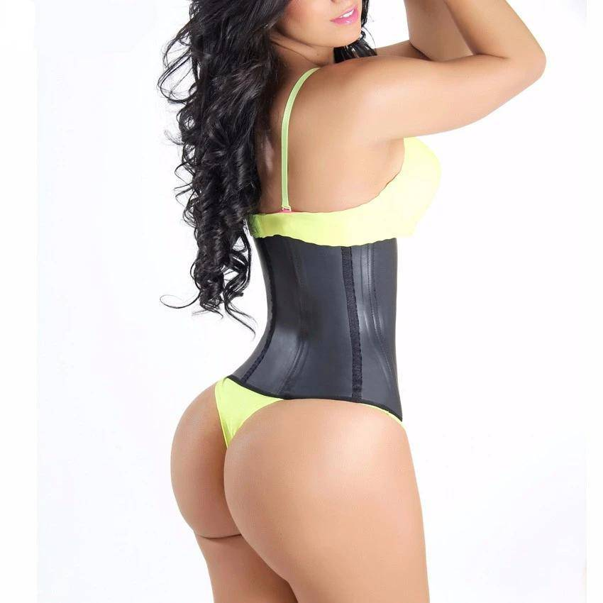 FigureWaist™ Ultimate Waist Trainer Hook Black - FigureWaist.com