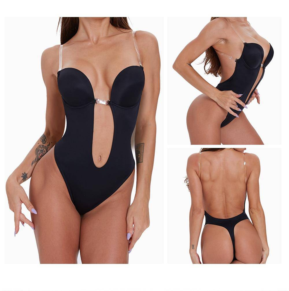 FigureWaist™ Backless Strap Invisible Shapewear - FigureWaist.com