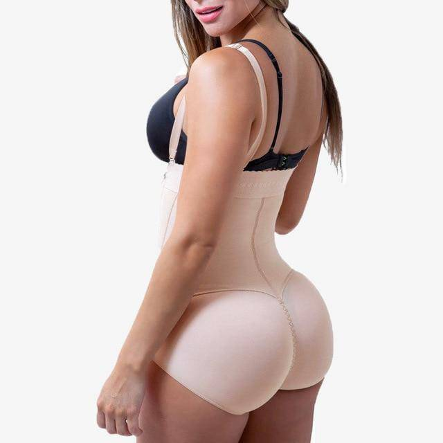 Figure Waist™ Zip Body Shaper Bodysuit - FigureWaist.com