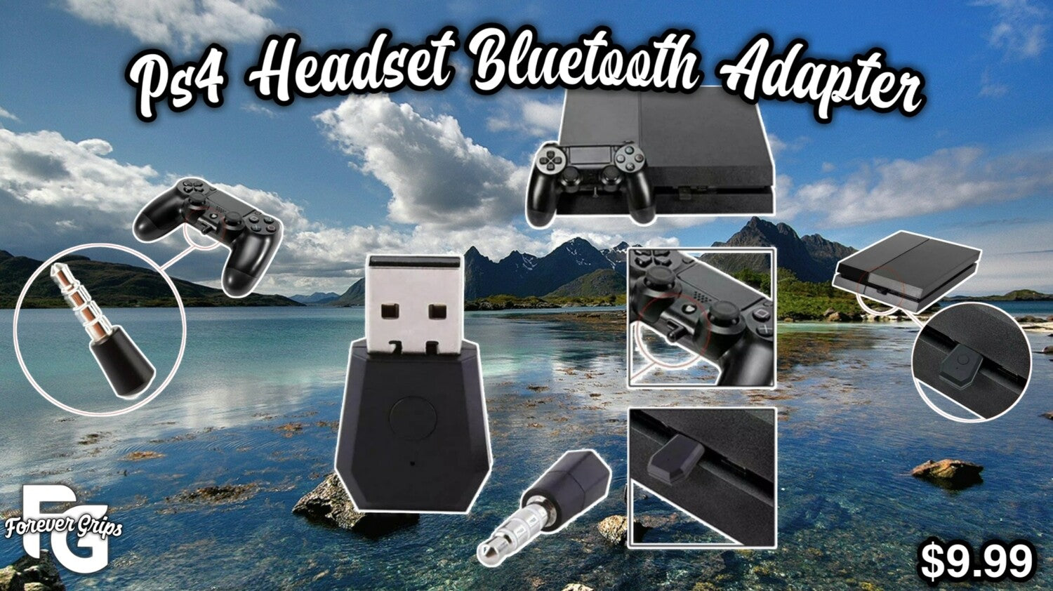 Ps4 Headset Bluetooth Adapter