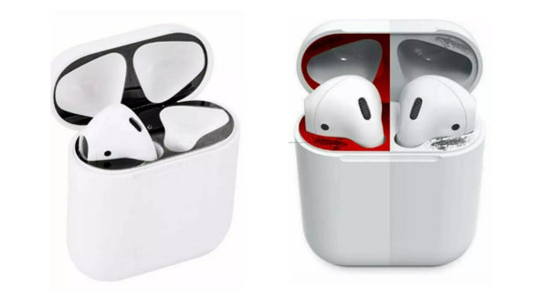 AirPods Metal Dust Covers