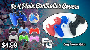 Playstation 4 Plain Controller Covers