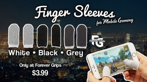Finger Sleeves for Mobile Gaming
