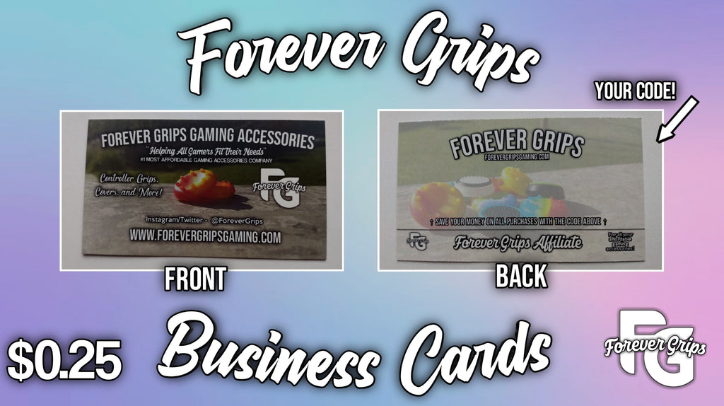 Forever Grips Business Cards