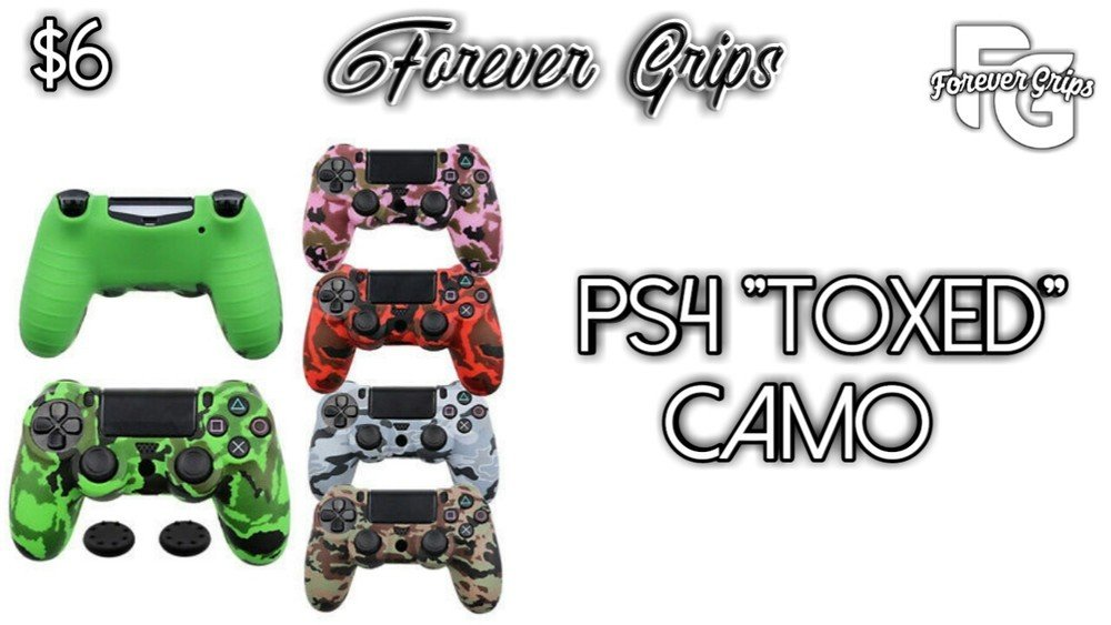 Toxed PlayStation 4 Controller Skin