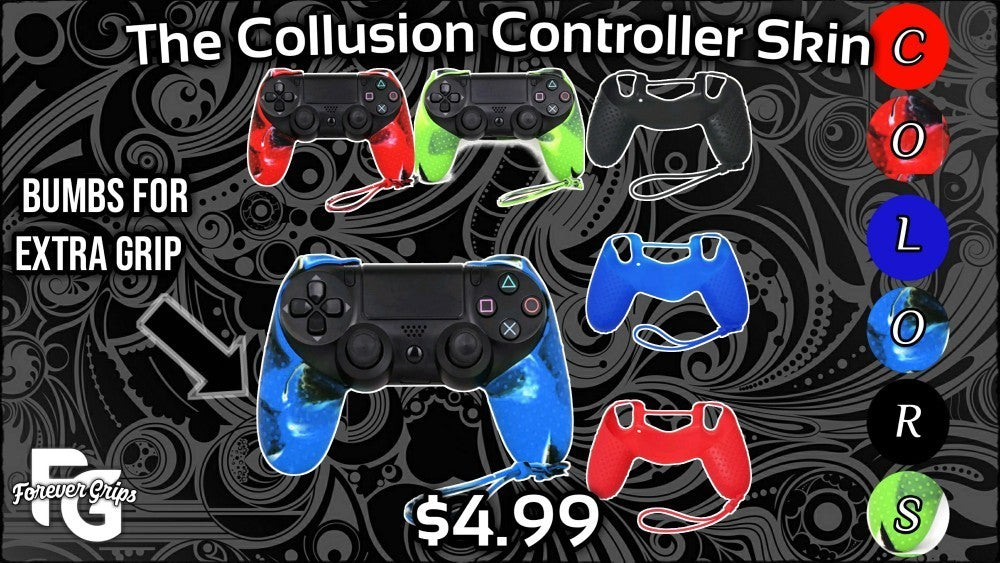 Collusion Playstation 4 Controller Skins