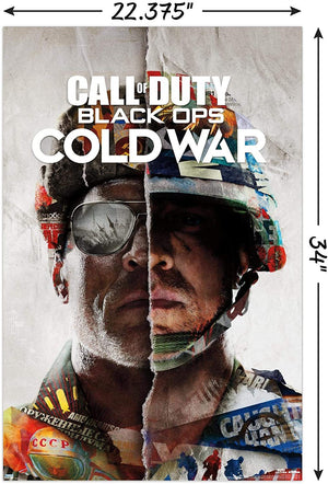 "Call of Duty: Cold War Poster - 22.375"" x 34"""