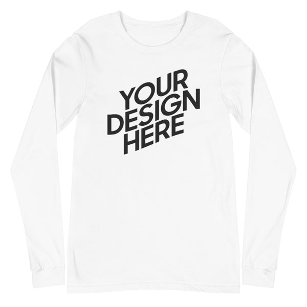 CUSTOM Long Sleeve Tee (Front Only)