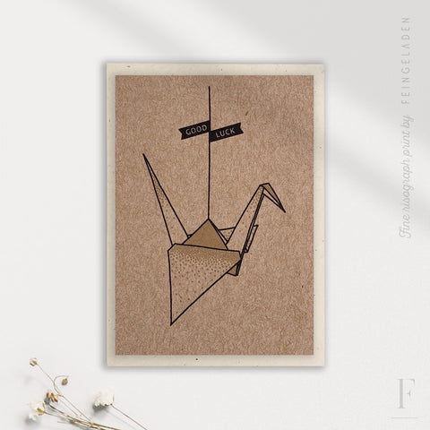 LIKE ORIGAMI: Crane / Good Luck / A7 - Feingeladen