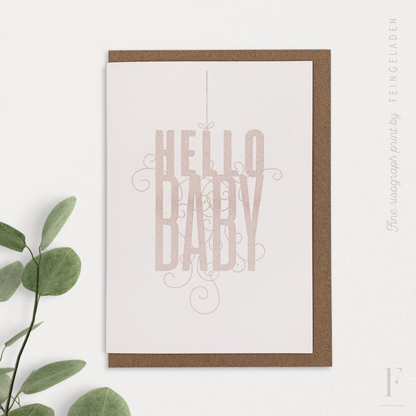 FANCY TYPE: Hello Baby - Feingeladen