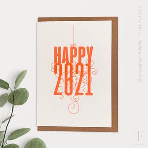 FANCY TYPE: Happy 2021 - Feingeladen