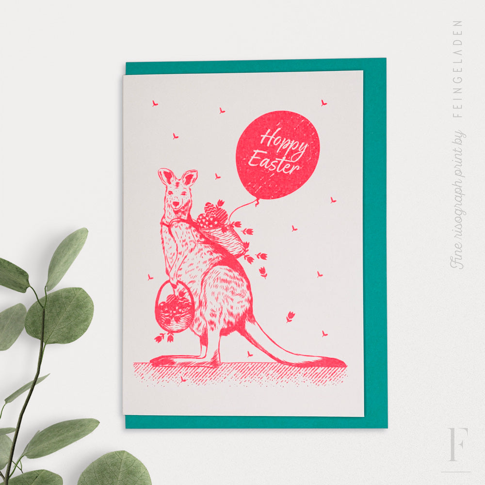 LOVELY BEASTS: Kangaroo  / Hoppy Easter - Feingeladen