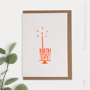 TYPOGRAFICA: Happy Birthday - Feingeladen