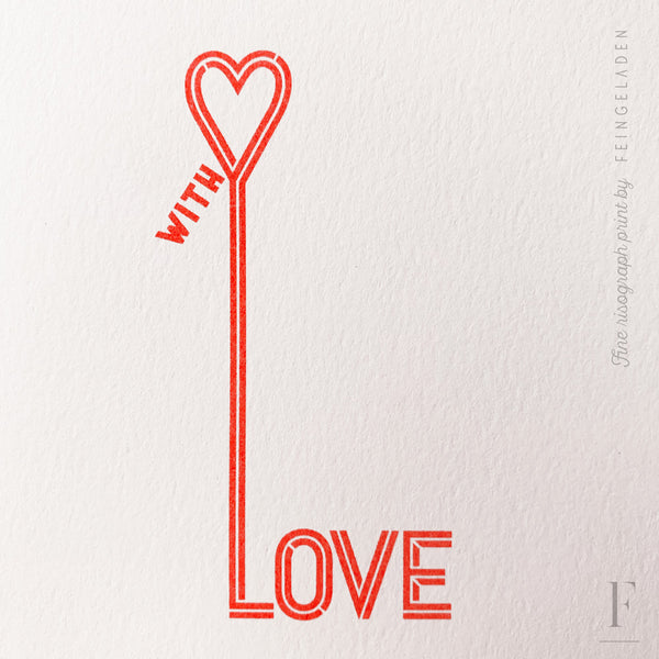 TYPOGRAFICA: With Love - Feingeladen