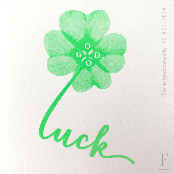 TYPOGRAFICA: Good Luck - Feingeladen