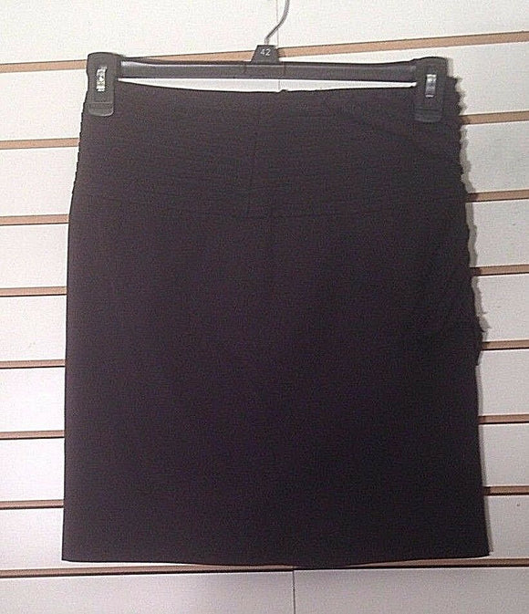 Women's Black Skirt w/Side Bow Size M by Cat (02270)