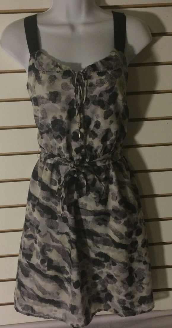 Women's Gray Multi-Color Sleeveless Dress Size XS by I Heart Ronson (01448)