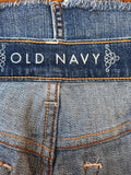 Women's Blue Denim Mini Jean Skirt Size 4 by Old Navy (02948)
