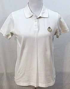 Women's White Polo Shirt Size S by Ralph Lauren (03418)