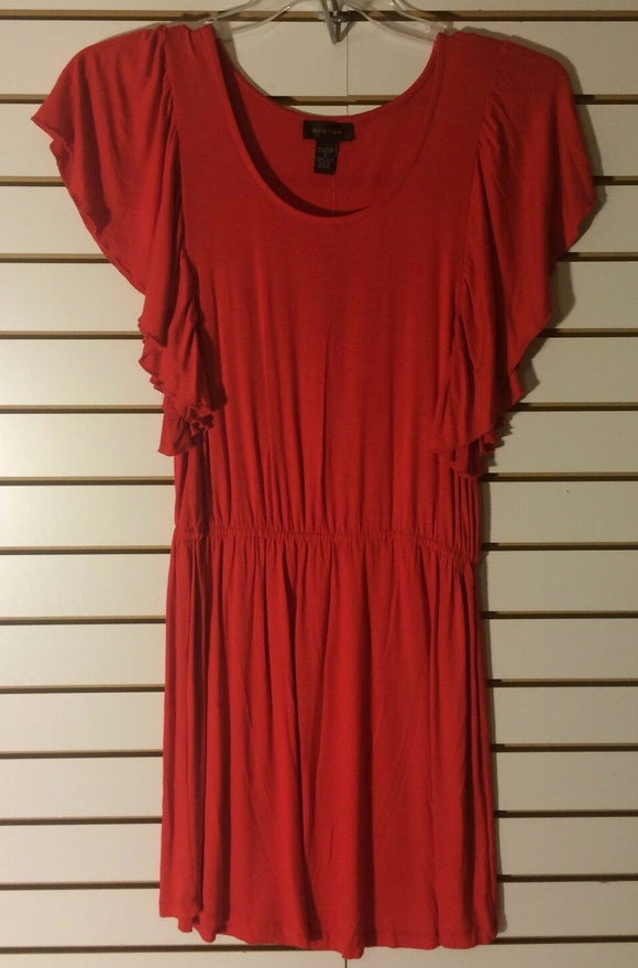 Women's New Red Knit Dress Size S by Spense (01446)
