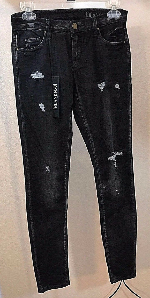 Women's New Black Skinny Jeans Size 4 by Blank NYC (02960)