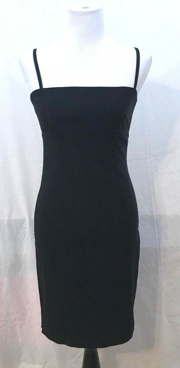 Junior's Black Cocktail Dress Size 3 by 3B Made In America (03413)